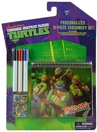 ahorra hasta un 30-50% de descuento Teenage Mutant Ninja Turtles 5 Piece Stationery Drawing Set Set Set - TMNT Dry Erase Notebook with Markers by Nickelodeon  tienda en linea