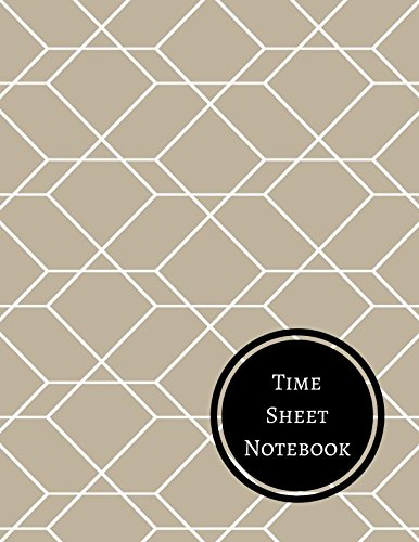Time Sheet Notebook: Daily Employee Time Log PDF Books