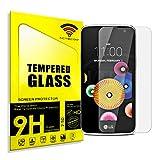 actecom® Cristal Templado Protector Pantalla 9h 2.5D para LG K4 K120E