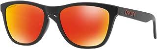 Oakley Men's OO9245 Frogskins Asian Fit Rectangular Sunglasses