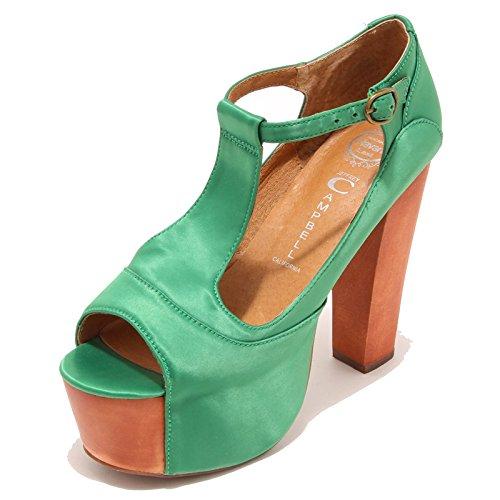 Jeffrey Campbell 3357I Sandali Donna Foxy Wood Scarpe Shoes Women [41]