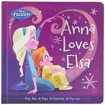Frozen Anna Loves Elsa  Frozen  Disney Press