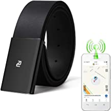 HIMU Real-time Positioning of The Elderly Belt, Alzheimer's Anti-Lost Anti-Lost Locator, Old Belt Locator tag Alarm Reminder Tracker Remote Finder