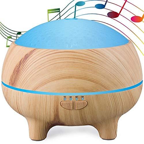 300ML Elektronische Musik Ultraschall Luftbefeuchter Bluetooth Lautsprecher Aromatherapie Ätherisches Öl Diffusor Mit Nachtlicht Für Home Office