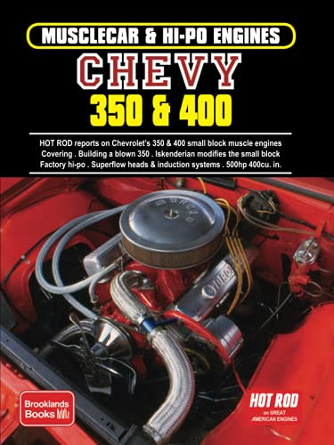 Musclecar & Hi-Po Engines Chevy 350 & 400 (Musclecar and Hi-Po Engine Series)