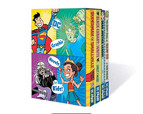 Compare Textbook Prices for DC Graphic Novels for Kids Box Set 1  ISBN 9781779507044 by Various,Various