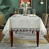 SUTAVIA Lace Tablecloth Rectangle...