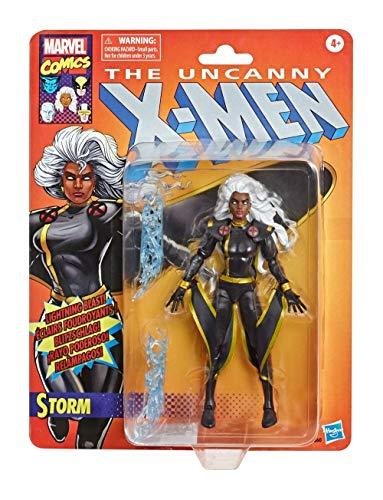 Hasbro Marvel Legends Series Tempesta Action figure 15 cm da collezione, Serie X-Men Retro Collection