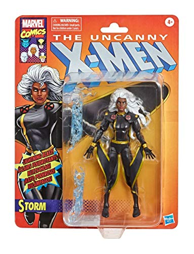 Marvel Figura Vintage Storm E9660, Color Negro