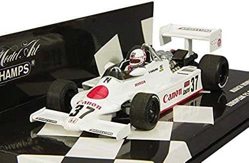 Minichamps 417820337 March Honda F2 2 European F2 ampionship 1982 Ma ab 1 43 Weiß