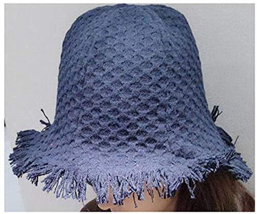 Otoño Cubo Sombreros Mujer Personalidad Sombrero Burr bañera Wool Cap Casual Pescador...