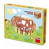 Dino Toys- Cubos de Madera Del Puzzle (641204) , color/modelo surtido