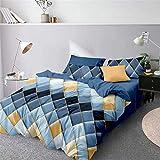 DFLYHLH Geometric Duvet Cover Comforter Bedding Queen King Bed Linens style13 UK Single 135x200cm