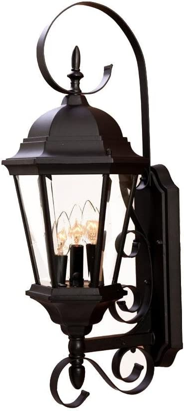 Acclaim 5413BK New Tucson Mall Excellent Orleans Collection 3-Light Outdoor Wall Mount