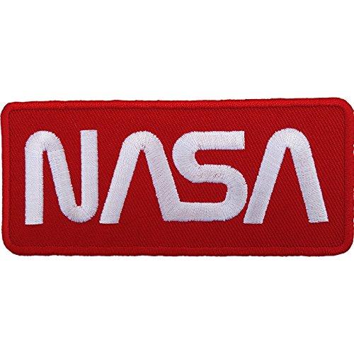 Nasa parche bordado hierro Sew en disfraz de astronauta Spaceman Badge