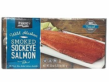 Trident Wild Alaskan Smoked Sockeye Salmon - 567g/20 Oz