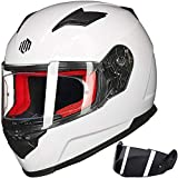 ILM Motorcycle Street Bike Full Face Helmet Anti-Fog Pinlock Shield...