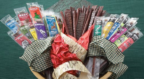 24 - Pc. Buffalo Bob's Wild Game Jerky