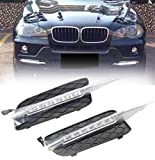 LED DRL Daytime Running Light Frong pare-chocs antibrouillard pour X5 E70 2007-2009