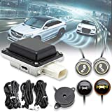 EWAY Universal Car Radar Blind Spot Detectors Sensor System Kit Auto Safety Monitoring Assistant, BSD, LCA, ODW, RCTA fits Mercedes-Benz BMW Ford Jeep Truck RV Toyota Dodge Chevy Honda VW etc.