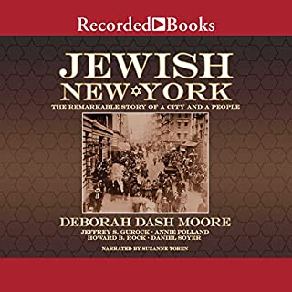 Jewish New York audiobook cover art
