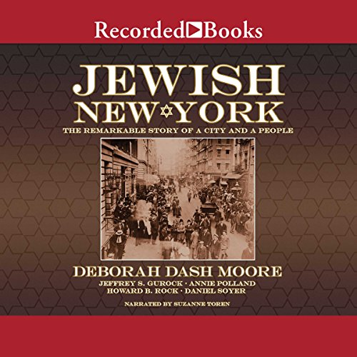 Jewish New York cover art