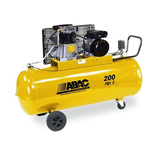Abac - Compresseur d'air bicylindre mono, 200L 3CH
