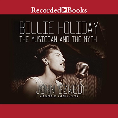 Billie Holiday audiobook cover art