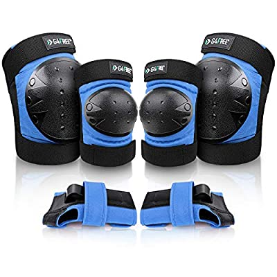 Amazon - 30% Off on Adults Kids Bike Knee Pads Elbow Pads Wrist Guards 3 in 1 Protective Gear Sets