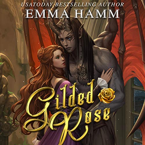 Couverture de Gilded Rose (A Beauty and the Beast Retelling)