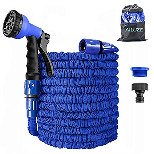 AILUZE 50FT Garden Hose,Expanding Garden Water Hose Pipe with 8 Function...