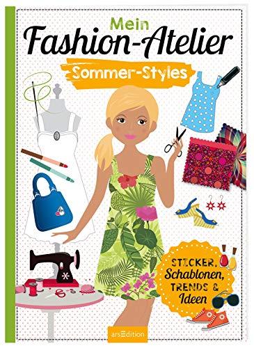 Mein Fashion-Atelier Sommer-Styles (Sticker-Anziehpuppen)