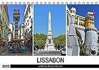 LISSABON und die Atlantikkueste (Tischkalender 2022 DIN A5 quer): Bilder von Portugals faszinierender Hauptstadt und ihrer schoenen Umgebung (Monatskalender, 14 Seiten )