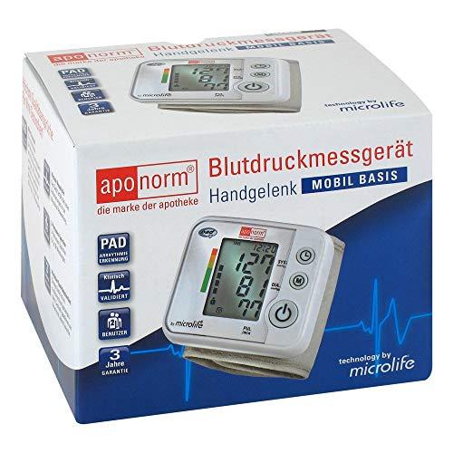 APONORM Blutdruck Messgerät Mobil Basis Handgelenk 1 St