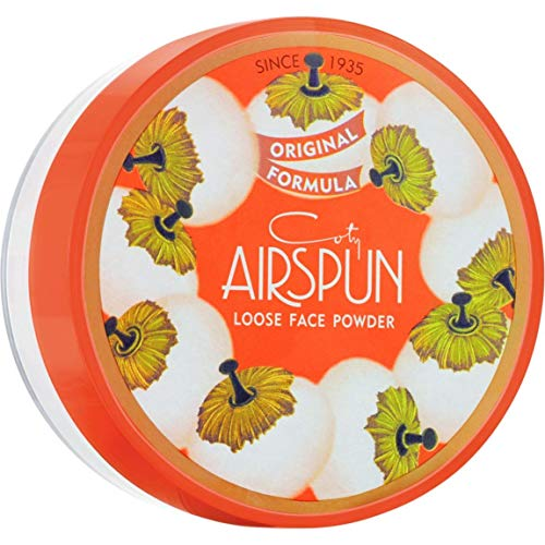 Coty Airspun Loose Powder, Naturally Neutral, 070-11, 2.3 Ounce (6 Pack)