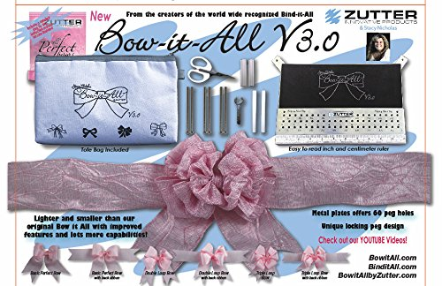 Zutter Bow-it-All V3.0 Classic white edition, 11x7x1/2
