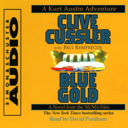 Couverture de Blue Gold