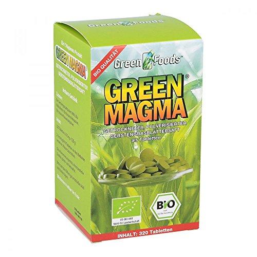GREEN MAGMA Gerstengrasextrakt Tabletten 320 St