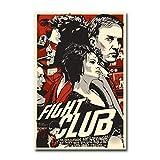 TanjunArt Fight Club Brad Pitt Klassiker Film Leinwand