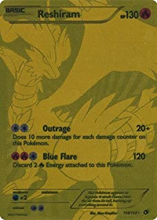 Pokemon - Reshiram (114/113) - Legendary Treasures - Holo