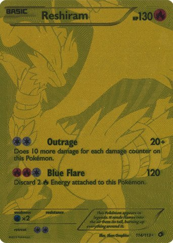 Pokemon - Reshiram (114/113) - Lege…