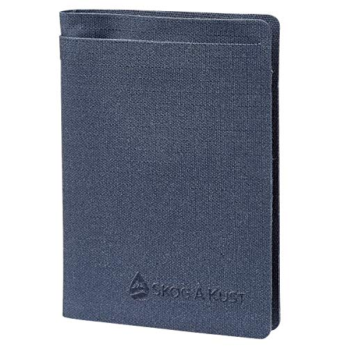 Skog Å Kust Plånbok Floating Waterproof Wallet   Perfect for Boating, Kayaking and Other Outdoor Activities   Bifold Midnight Blue
