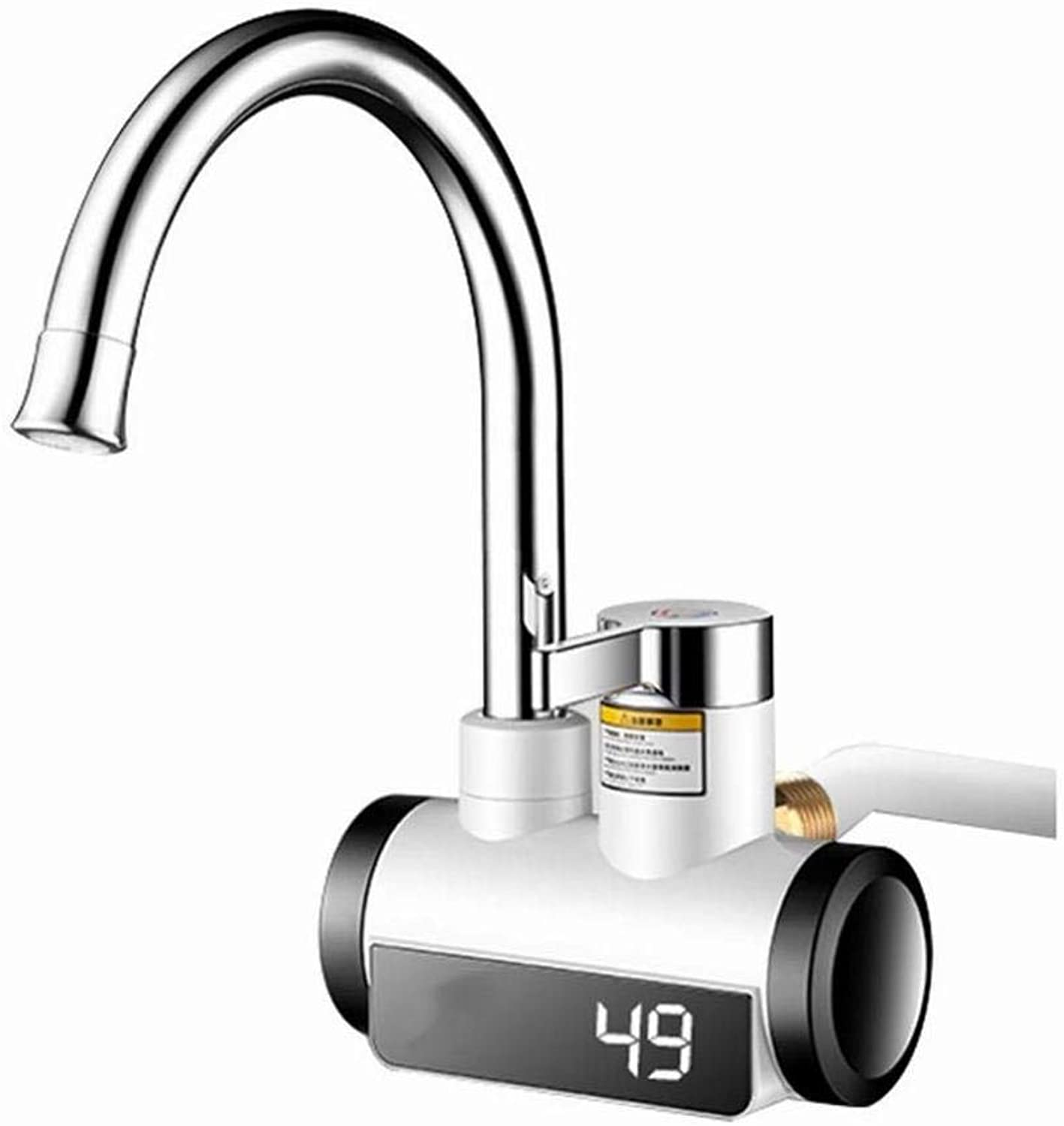 Electric Hot Water Faucet, Hot Kitchen, Small Kitchen Treasure, Fast Heating, Hot Water, Hot Water, Domestic Water Heater,As Show,One Size