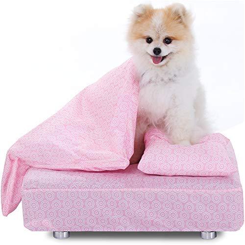 Cama Cachorro Lençol Edredom Travesseiro