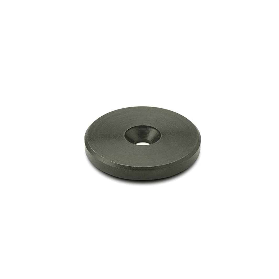 J.W. Winco 25WG43 Countersunk Washer, GN184, 25 mm OD x 50.3 mm ID, Steel Black Oxide Finish