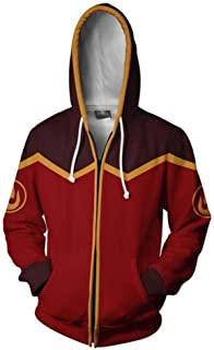 Anime Unisex 3D Printed Hoodie Cosplay Costume Adult Zipper Hoodies Jacket