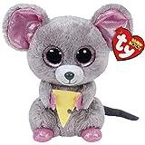DKMDT Juguete de Peluche de ratón de Dibujos Animados para niños, muñecos de Peluche, Almohada de algodón PP Suave, Regalo de cumpleaños para niños de 6'15 cm