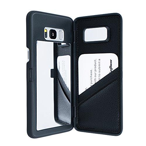 Galaxy S8 Case, Hidden Back Mirror …