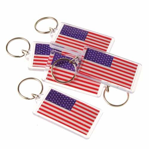 Why Choose American Flag Key Chains, Sold by 9 Dozens