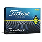 Titleist 2020 Tour Soft YLW Bola de Golf, Hombres, Yellow, Talla Única